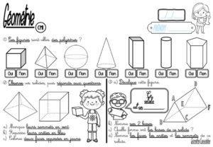 Les parallélogrammes (CM/Géométrie/Les affichages)