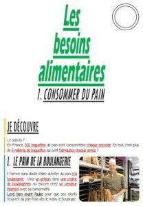 Les besoins alimentaires (CM-Géographie)