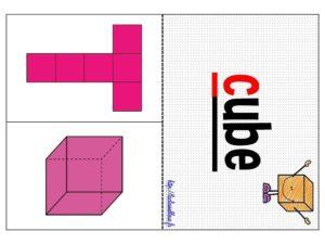 Les patrons de solides (CM/Géométrie/Les flashcards)