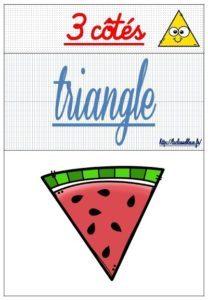 Les polygones (CM-Géométrie-Les flashcards)