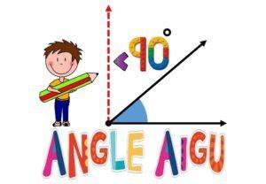 Les angles (CM/Mesures/Les affichages)
