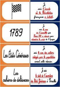 La Révolution Française et la DDHC (Le jeu de dominos)