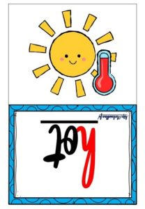 Les flashcards (Weather)