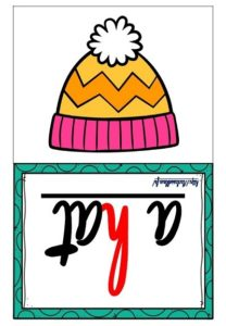 Les flashcards (Winter Clothes)