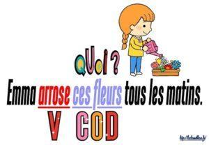 Le COD (CM/Grammaire/Les affichages)