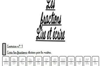 fraction décimale - laclassebleue