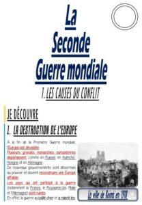 La 2nde Guerre mondiale (CM-Histoire)