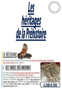 Les héritages de la Préhistoire (CM/Histoire)