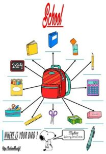 La trace écrite (Le matériel scolaire)