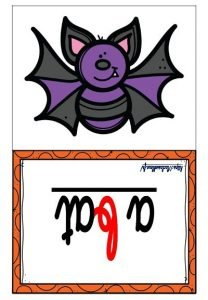 Les flashcards (Halloween)