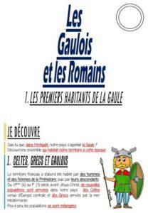 Les Gaulois et les Romains (CM/Histoire)