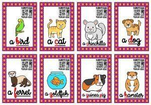 Les cartes-audios (Les animaux domestiques)