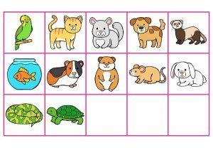 Les miniatures pour jeux (Les animaux domestiques)