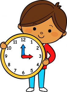 Lire l'heure (Les flashcards numériques)