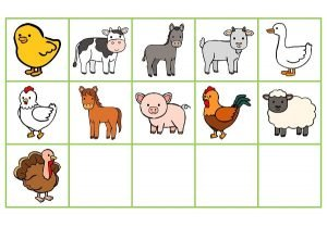 Les miniatures pour jeux (Les animaux de la ferme)