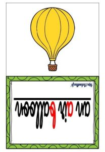 Les flashcards (Les transports)