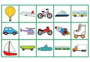 Les miniatures pour jeux (Les transports)