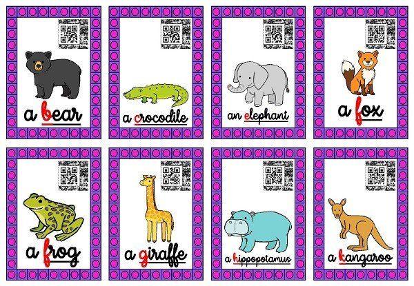Cycle 3-Anglais-Les animaux du zoo – laclassebleue