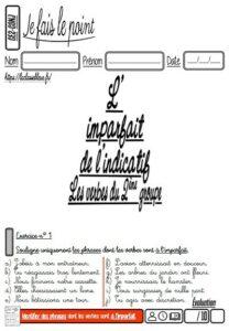 Les évaluations de conjugaison (CE2)